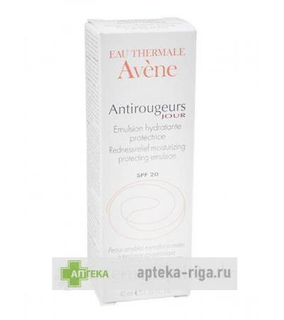 Avene Antiredness Jour emulsion SPF 20, 40 ml